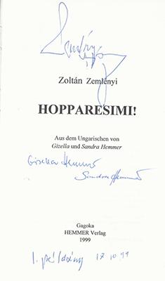 hsimi autogrammes