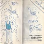 1985 Pártmunkás zsebkönyv