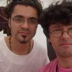 Szarka Fedor Guido barátommal Lille-ben